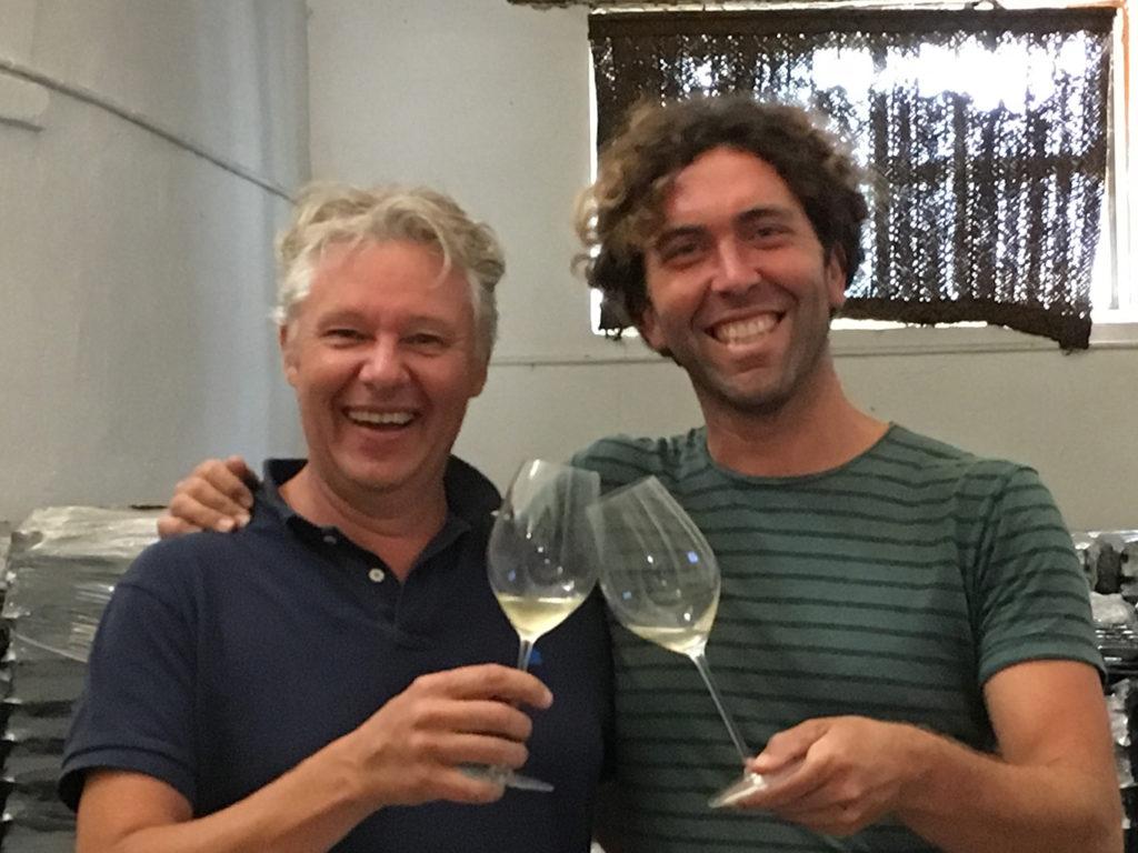 アレハンドロ・ムチャーダ(右)とダヴィッド・レクラパール(左)